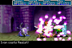 Resist being cast in the GBA games.