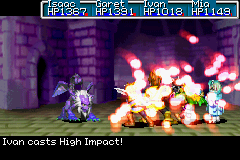 High Impact as shown in the GBA games.