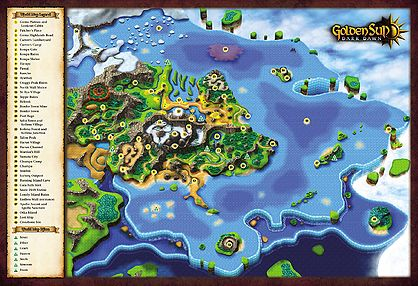 Weyard (after Golden Sun Event) - Golden Sun Universe, the Golden ...